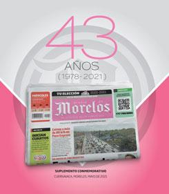 ANIVERSARIO 43 DIARIO DE MORELOS