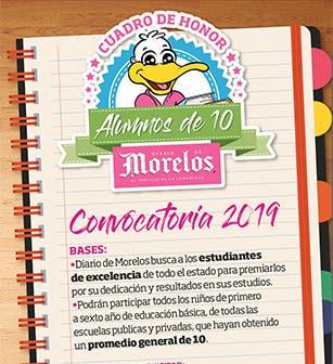 Cuadro de Honor 2019 - Alumnos de 10