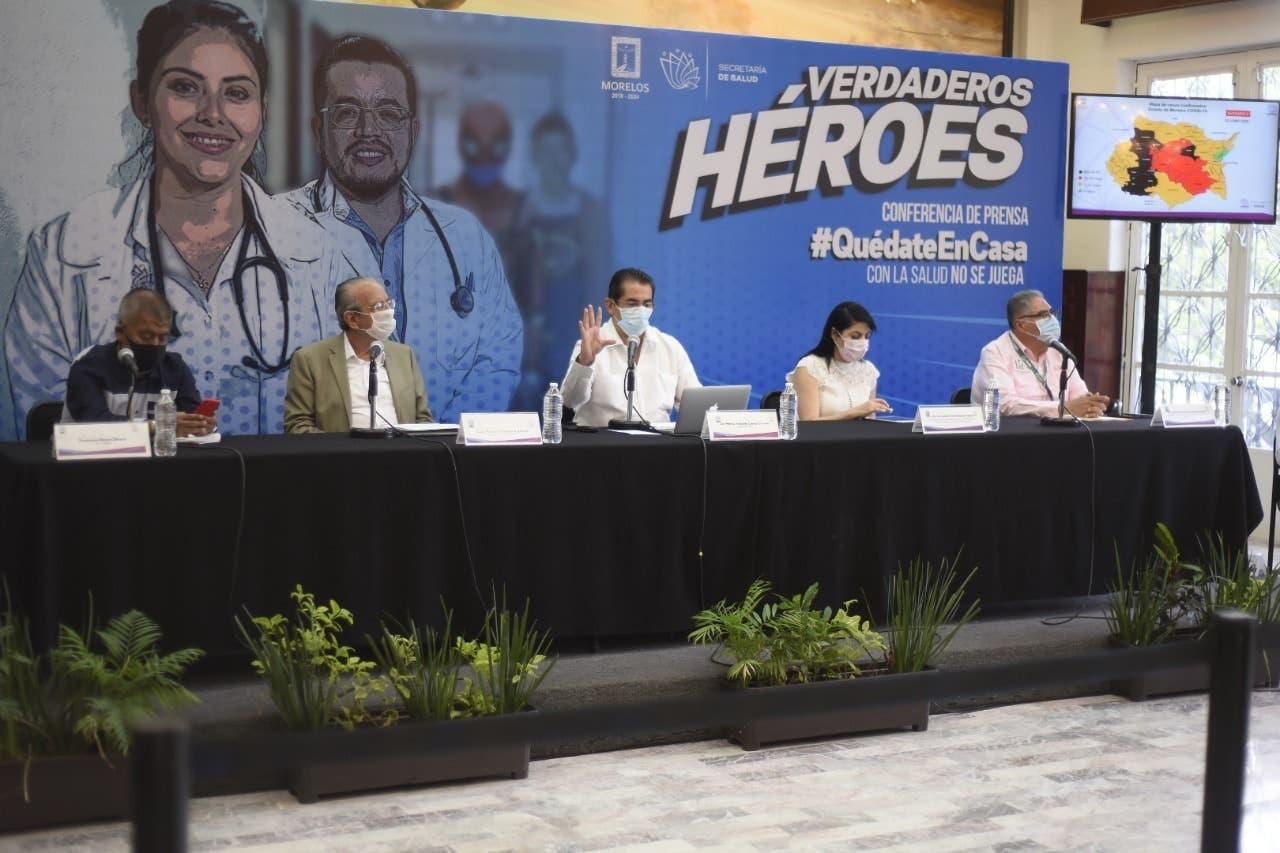 En Morelos no ha iniciado el desconfinamiento, solo pueden llevarse a cabo actividades esenciales
