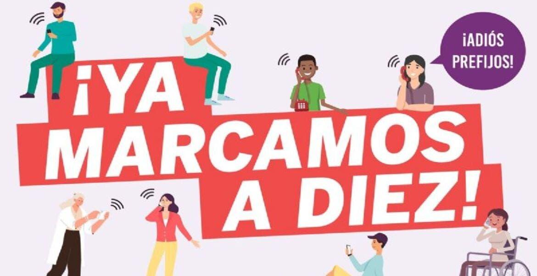 ¿Cómo debo llamar con la nueva marcación telefónica en México?