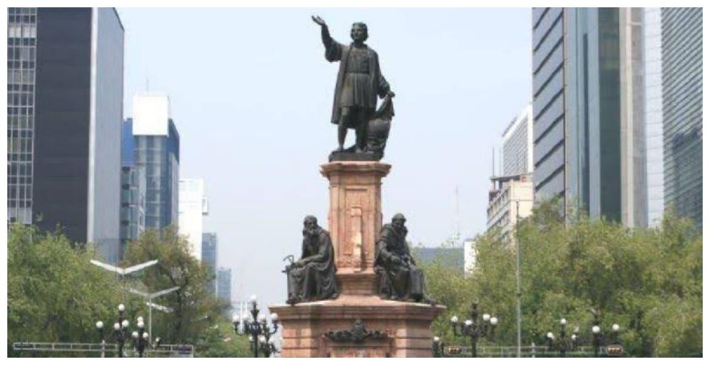 ¿Regresará la estatua de Cristobal Colón a Paseo de la Reforma?