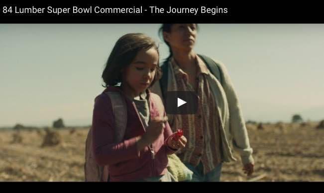La verdad detrás del polémico anuncio del muro en el Super Bowl