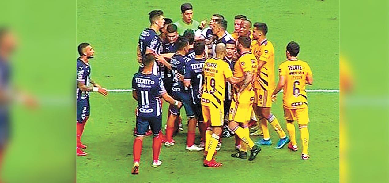 Rayados derrotó a los Tigres