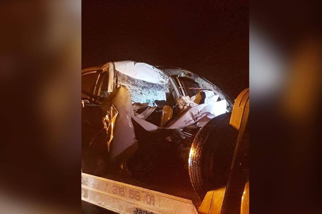 Este miércoles por la madrugada se registró un choque en la autopista México- Cuernavaca, a la altura del poblado de Tres Marías en el kilómetro 53, con dirección a Cuernavaca