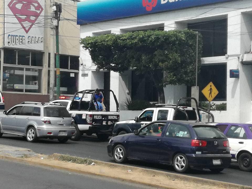 Asaltan banco en avenida Lázaro Cárdenas de Morelia