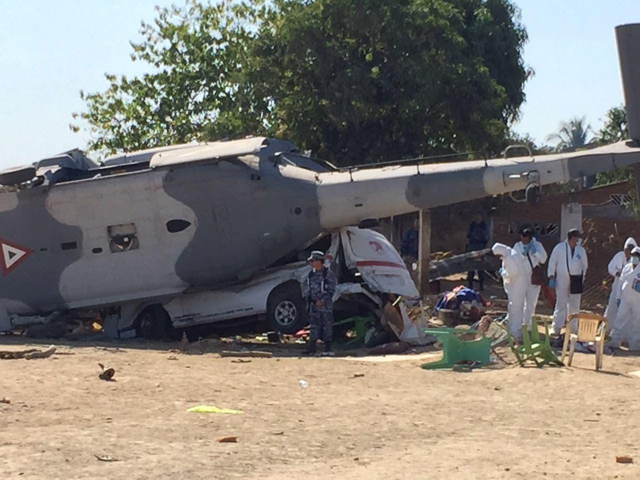 Reitera Sedena asumir responsabilidad del desplome del helicóptero