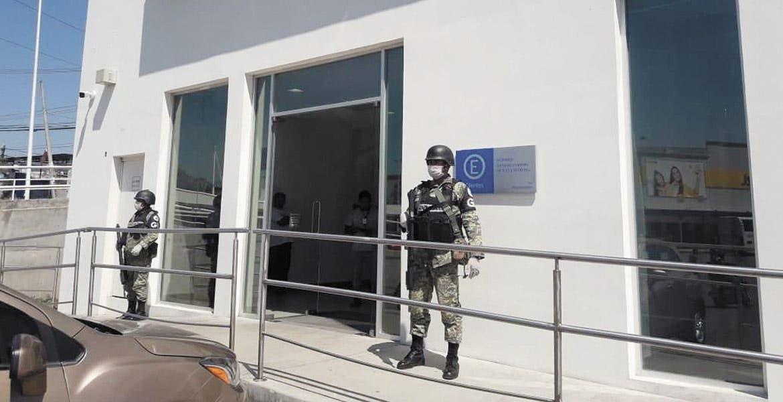 Refuerza la Guardia Nacional seguridad en negocios para evitar saqueos en Morelos