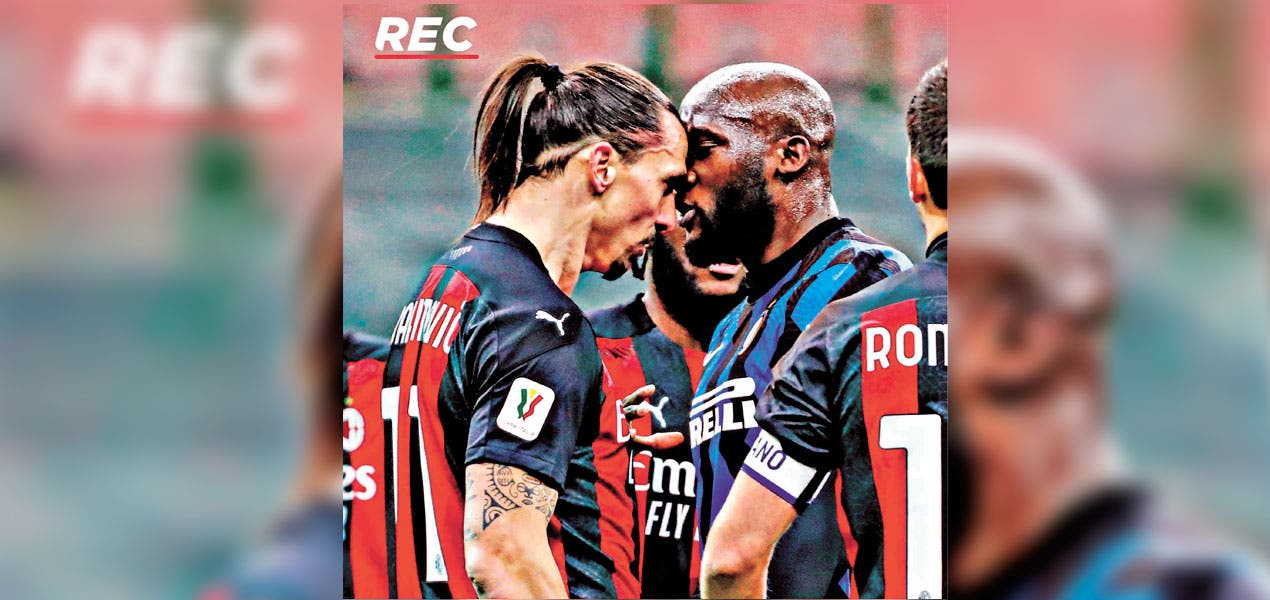 Inter le pegó al AC Milán