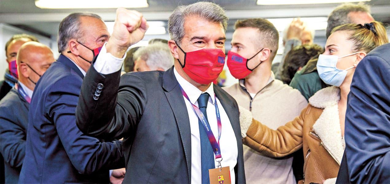 Laporta regresa al Barcelona