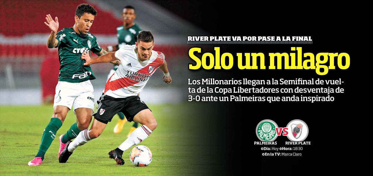 Solo un milagro: River Plate va por pase a la Final