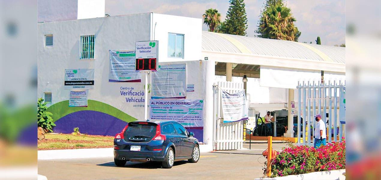 En operaciones verificentros de Morelos