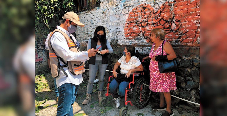 Levanta censo DIF para apoyar a familias en Cuernavaca