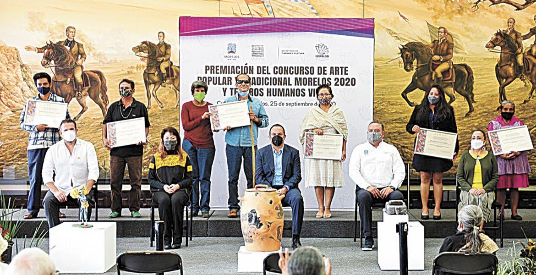 Premian al arte y tesoros vivos de Morelos