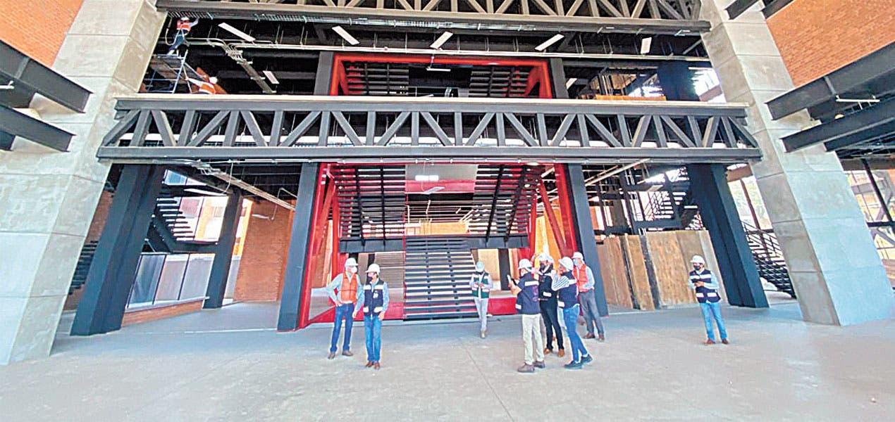 Edificio 1 de la UAEM está en su última etapa de reconstrucción