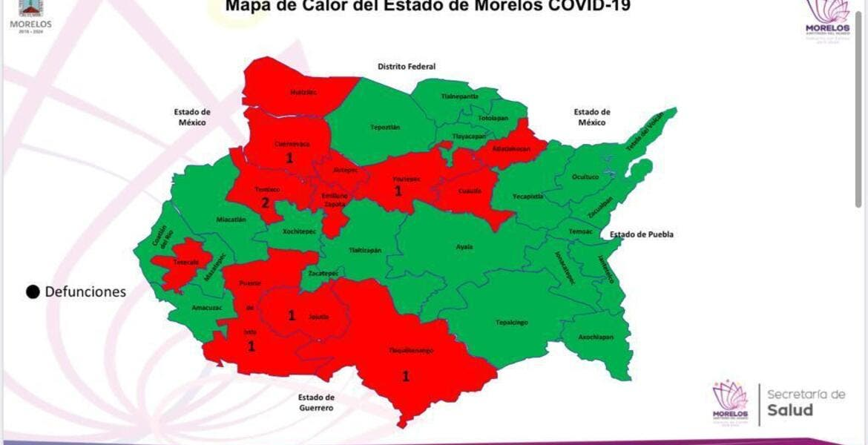 Incrementan en Morelos muertes por coronavirus; van 7
