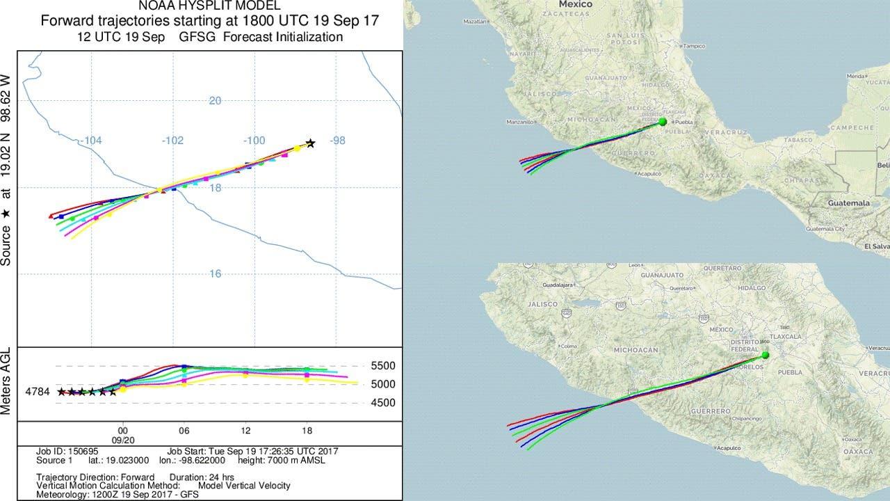 Popocatépetl hace erupción tras sismo de 7.1