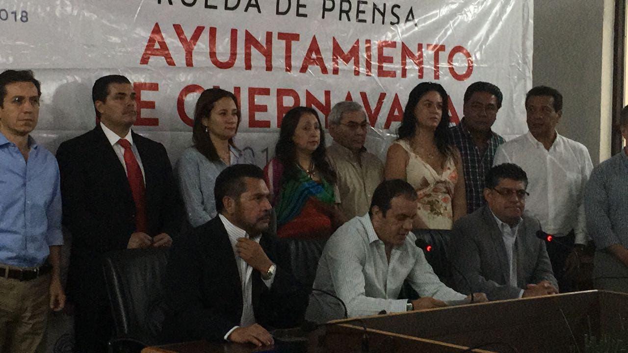 Renuncia secretario general de Cuernavaca por vínculos criminales