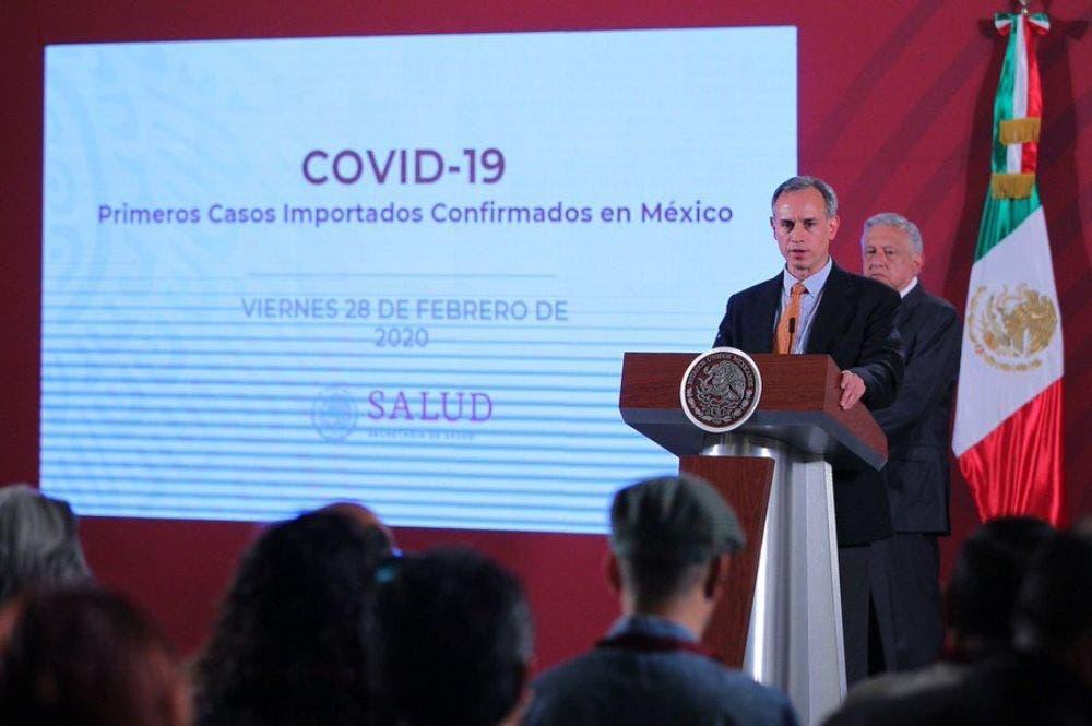Secretaría de Salud confirma el primer caso de coronavirus en México