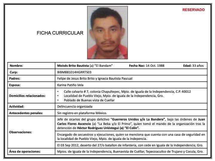 Asesinan en Cuernavaca a implicado en la desaparición de los 43 de Ayotzinapa