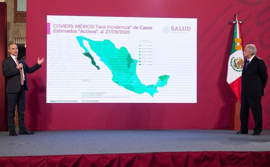 Reconoce Gatell que Morelos tuvo desconfinamiento acelerado por COVID-19