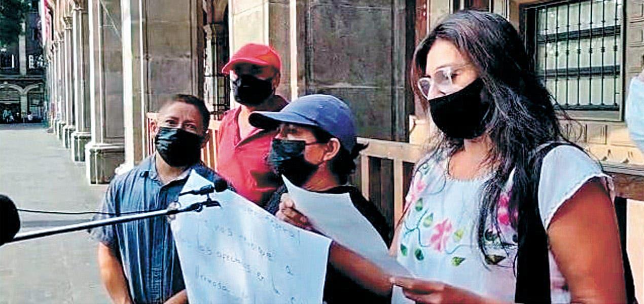 Preocupa a vecinos del cerro piden reubicación por afectaciones en la zona
