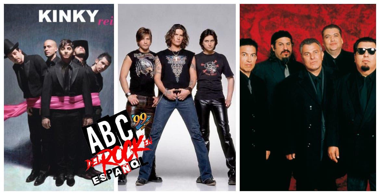 ABC del Rock en Español y nos vamos juntos con Jaguares - Kinky y Los lobos