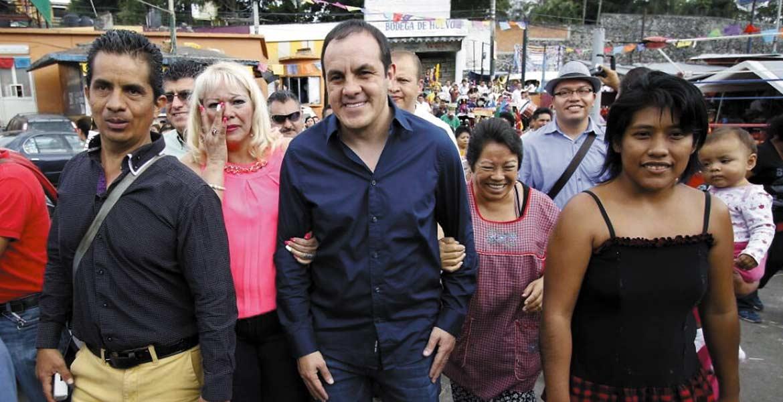 El centro de abastos más importante de la capital cumplió un año más de su apertura; el alcalde de Cuernavaca, Cuauhtémoc Blanco, acudió ayer al festejo, donde hubo grupos musicales y comida para todos.