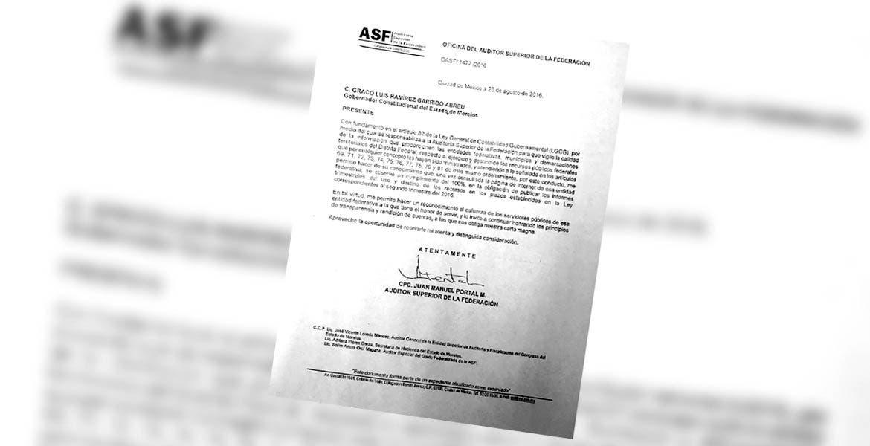 Misiva - El auditor superior, Juan Manuel Portal, señaló que el portal de información pública del Gobierno de Morelos cumple con los requerimientos.