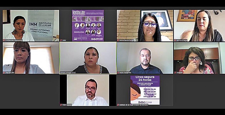 Lucha contra el feminicidio en Morelos es constante: Ojeda