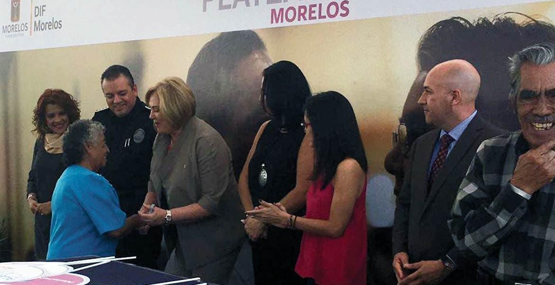 Evento. Autoridades presentaron el programa 'Alerta Plateada Morelos' con lo que buscan prevenir el extravío de adultos mayores.