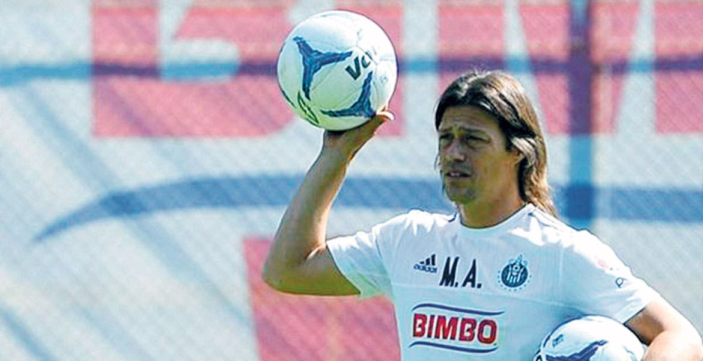 Matías Almeyda. El entrenador no pudo retener a Ángel Reyna.