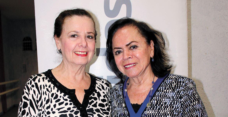 Pola Meraz y Gloria Hernández.