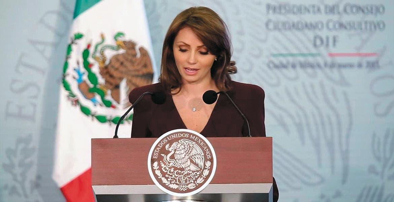 Visita. Estará presenta la presidenta nacional del DIF, Angélica Rivera.