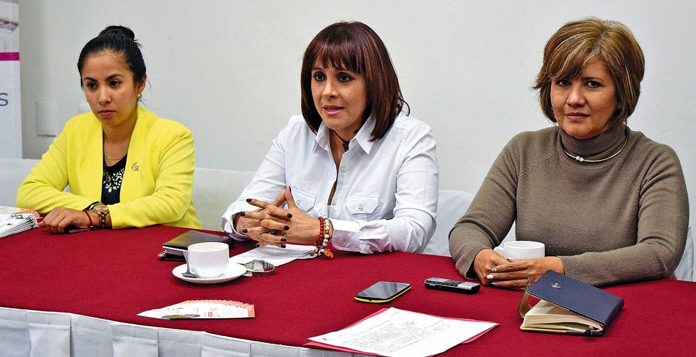 Jocelin de la Garza, Angy Newman y Connie Ortega.