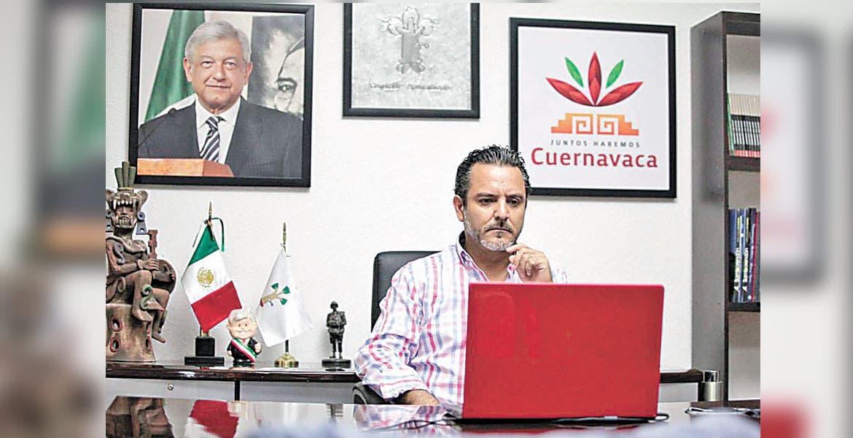 Antonio Villalobos. El alcalde de Cuernavaca pidió al dirigente nacional de Morena, Alfonso Ramírez, sea el conducto con el titular de la Auditoría Superior de la Federación para realizar la auditoría.