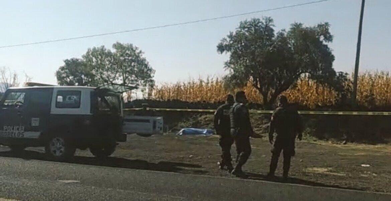 Asesinan a un hombre en Tepoztlán
