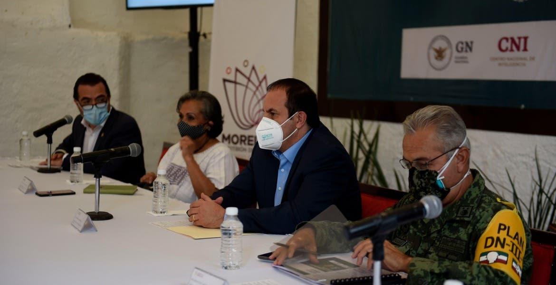 Autoridades de Morelos continúan implementando acciones para frenar el COVID-19