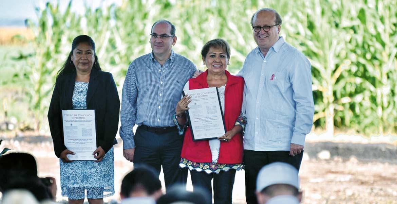 Evento. El Gobernador Graco Ramírez acompañado por el director general de la Comisión Nacional de Agua (Conagua), Roberto Ramírez de la Parra.