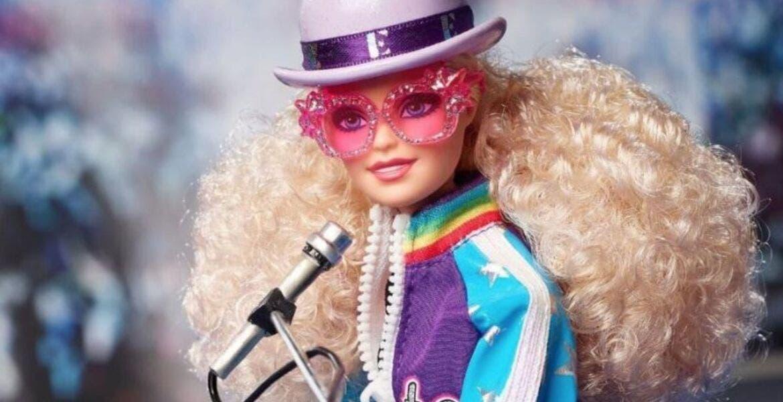 Barbie rinde homenaje a Elton John con muñeca