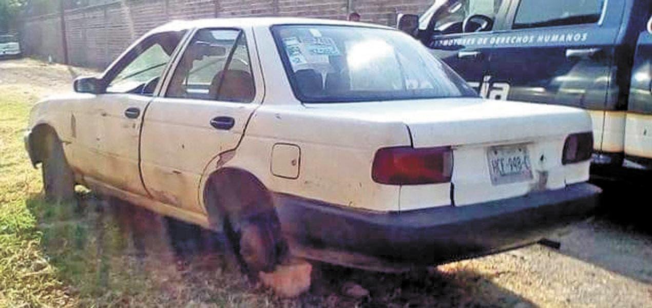 Localizan en Jiutepec auto robado