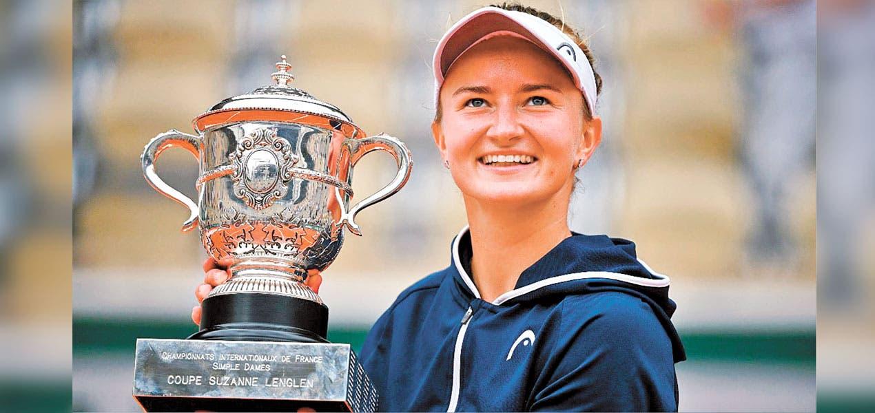 Gana Barbora Krejčíková el Roland Garros