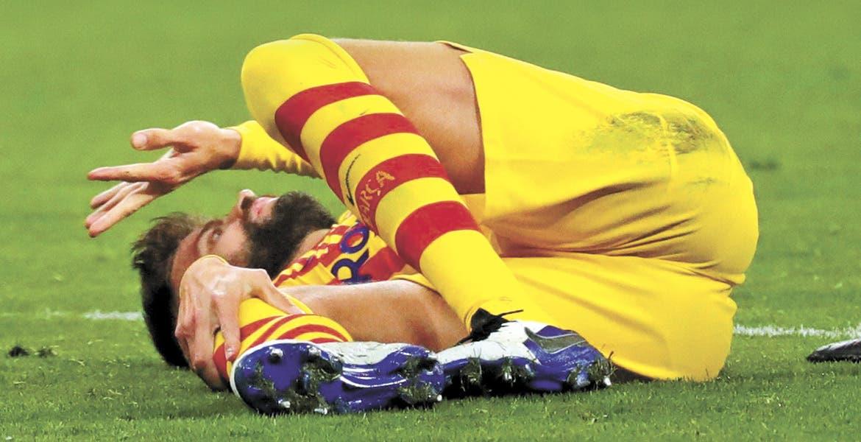 Tragedia en Barcelona: Piqué, fuera hasta 8 meses