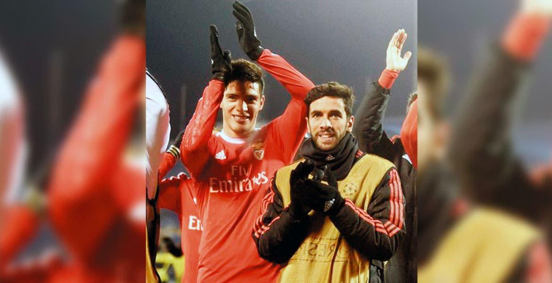 Están dentro. Benfica avanzó a la siguiente fase de la Champions League.