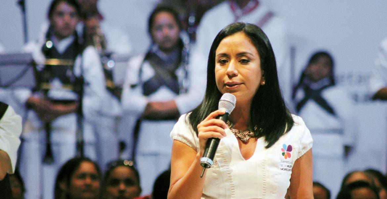 Blanca Almazo Rogel, titular de la Sedeso