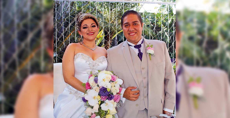 Raúl Mateos y Diana Álvarez.
