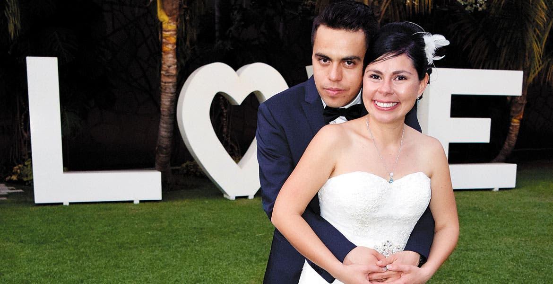Osvaldo Huerta y Arlette Bahena.
