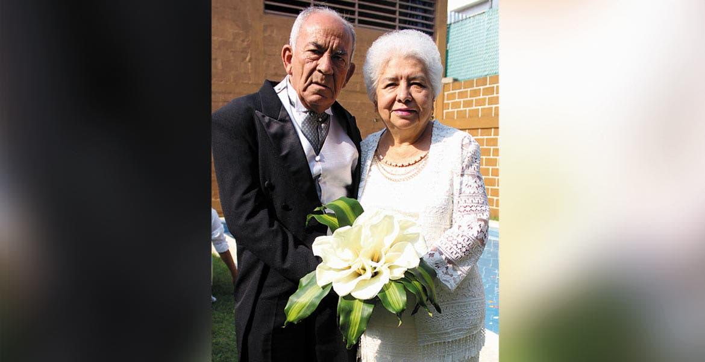 Rafael Álvarez y Estela Báez.