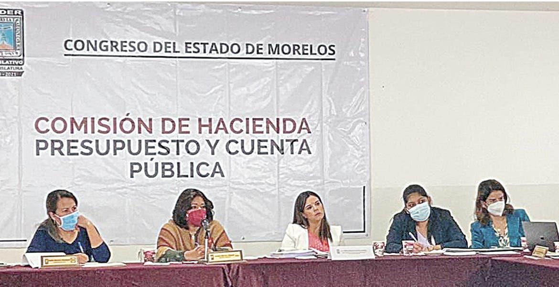 Despejan dudas de diputados sobre deuda de Morelos