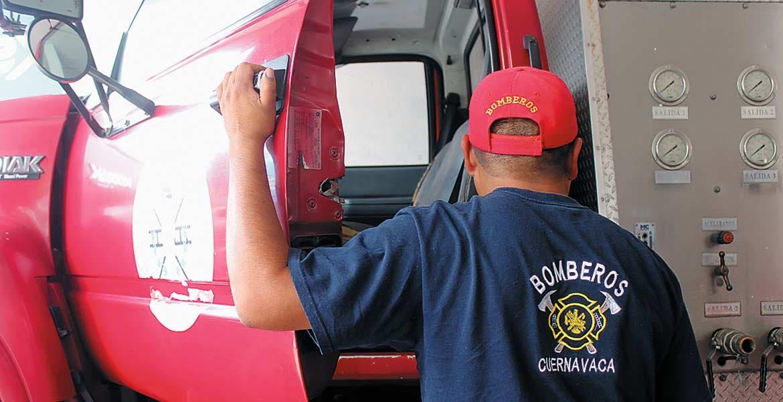 Prevén. Uno de los objetivos de estas reformas es que los bomberos ya no se vean en la necesidad de realizar colectas para adquirir equipo.