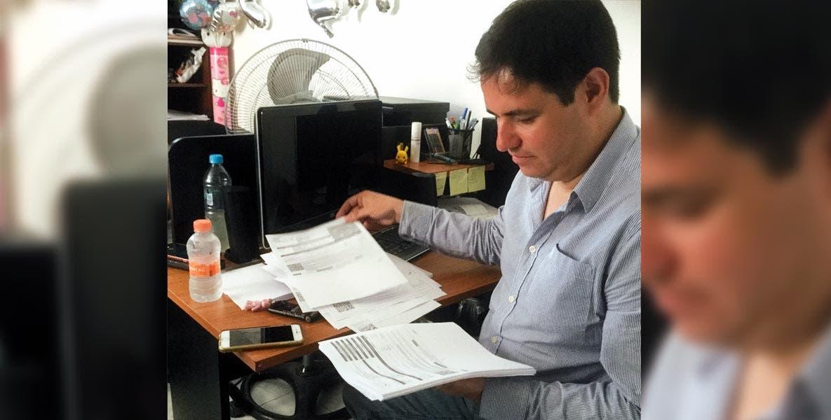 Defensa. El regidor Eduardo Bordonave lamenta carácter de José Manuel Sanz.